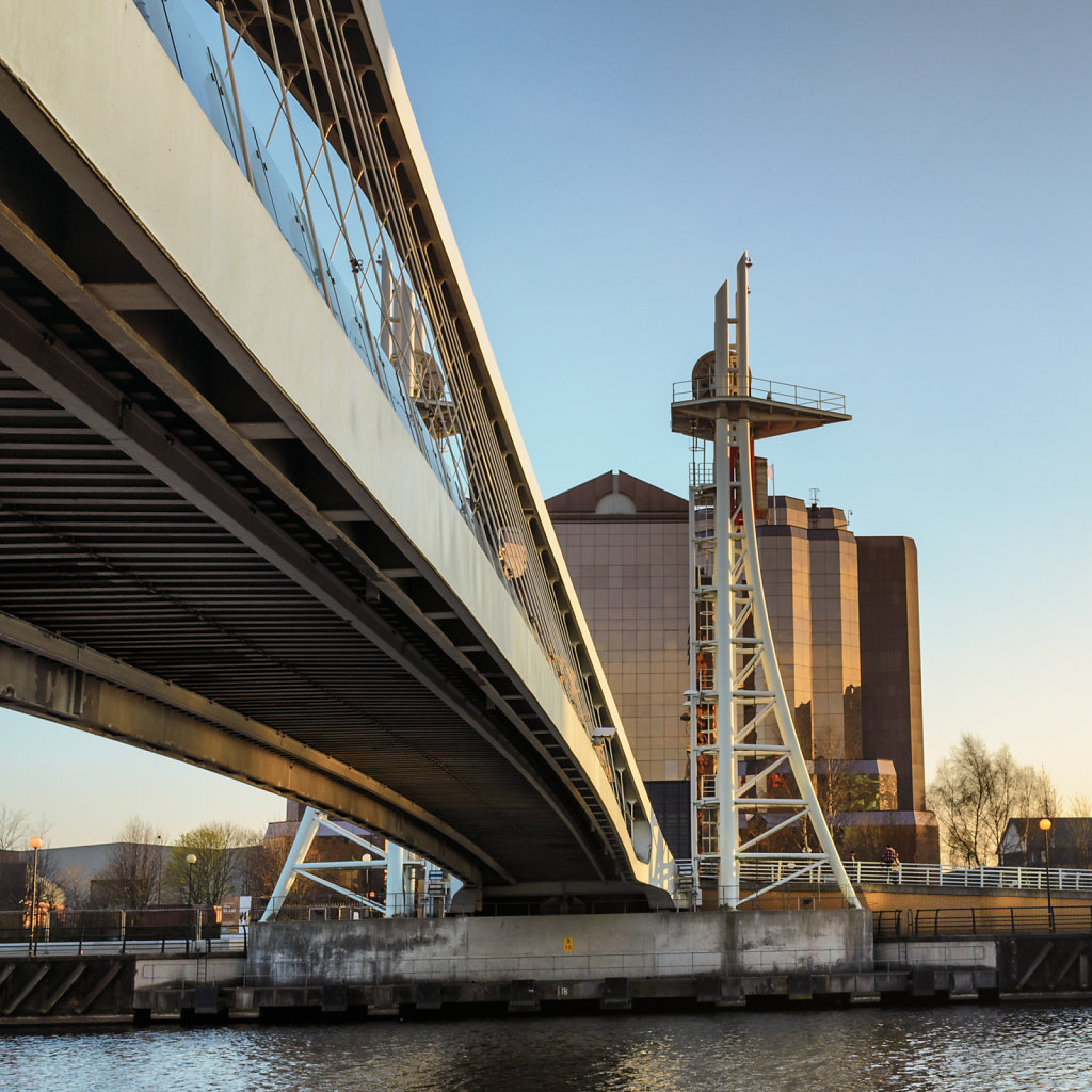 Lowry Bridge, Salford Quays